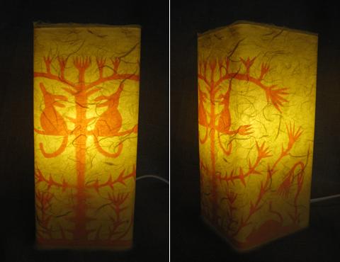Lampa - Djurblom