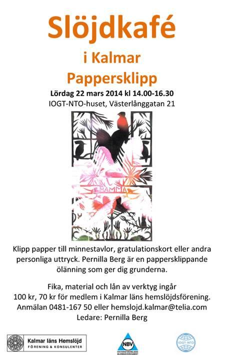 Pappersklippning i Kalmar